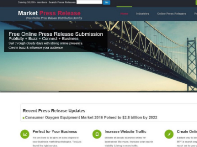 MarketPressRelease Portfolio