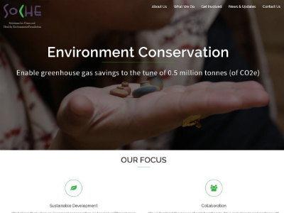SOCHE Foundation (NGO) Portfolio